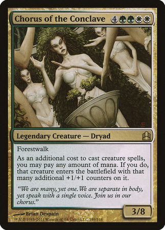Chorus of the Conclave [Commander 2011] | Eastridge Sports Cards & Games