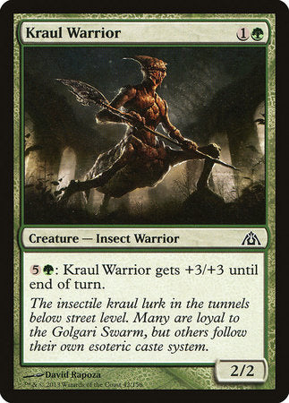 Kraul Warrior [Dragon's Maze] | Eastridge Sports Cards & Games