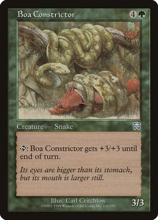 Boa Constrictor [Mercadian Masques] | Eastridge Sports Cards & Games