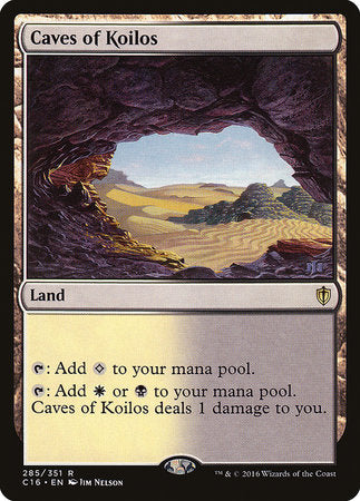 Caves of Koilos [Commander 2016] | Eastridge Sports Cards & Games