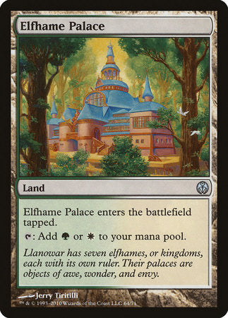 Elfhame Palace [Duel Decks: Phyrexia vs. the Coalition] | Eastridge Sports Cards & Games