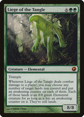 Liege of the Tangle [Scars of Mirrodin] | Eastridge Sports Cards & Games