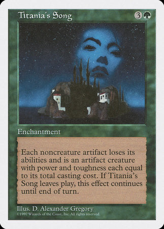 Titania's Song [Fifth Edition] | Eastridge Sports Cards & Games