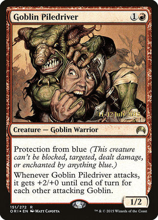 Goblin Piledriver [Magic Origins Promos] | Eastridge Sports Cards & Games
