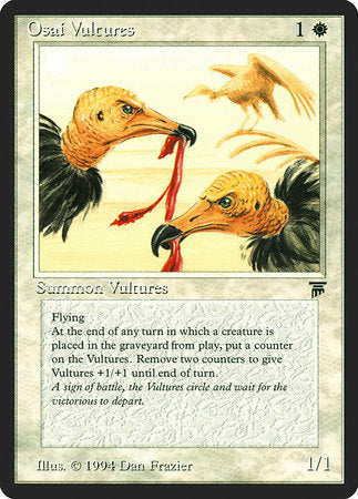 Osai Vultures [Legends] | Eastridge Sports Cards & Games