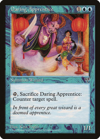 Daring Apprentice [Mirage] | Eastridge Sports Cards & Games