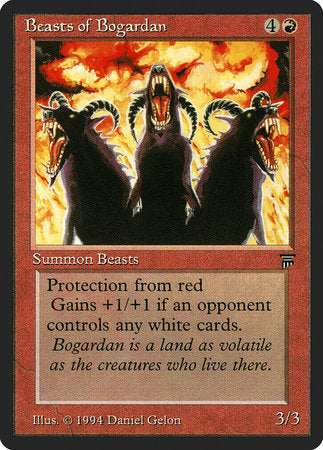 Beasts of Bogardan [Legends] | Eastridge Sports Cards & Games