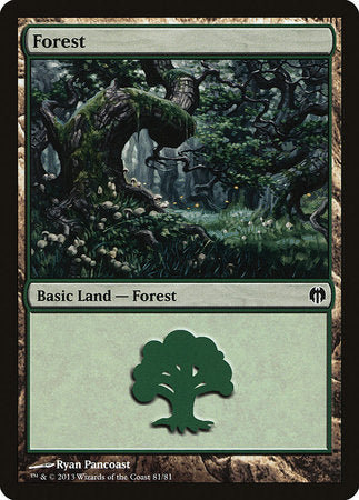 Forest (81) [Duel Decks: Heroes vs. Monsters] | Eastridge Sports Cards & Games