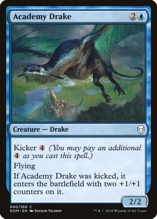 Academy Drake [Dominaria] | Eastridge Sports Cards & Games
