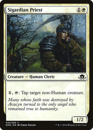 Sigardian Priest [Eldritch Moon] | Eastridge Sports Cards & Games