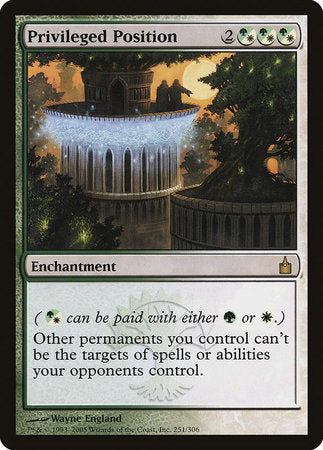 Privileged Position [Ravnica: City of Guilds] | Eastridge Sports Cards & Games