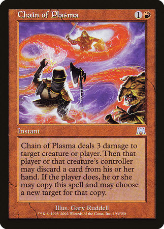 Chain of Plasma [Onslaught] | Eastridge Sports Cards & Games
