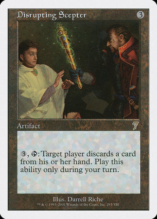 Disrupting Scepter [Seventh Edition] | Eastridge Sports Cards & Games