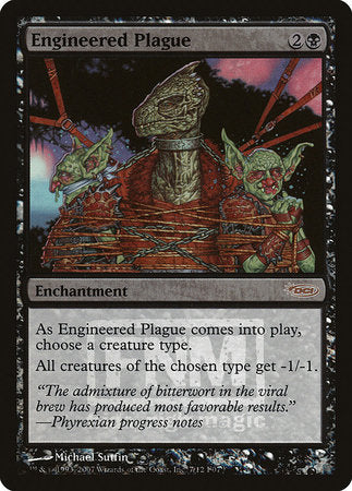 Engineered Plague [Friday Night Magic 2007] | Eastridge Sports Cards & Games