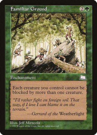 Familiar Ground [Weatherlight] | Eastridge Sports Cards & Games
