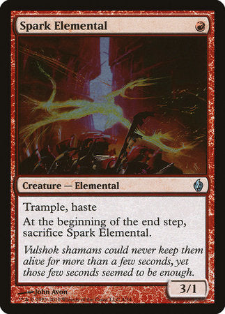 Spark Elemental [Premium Deck Series: Fire and Lightning] | Eastridge Sports Cards & Games