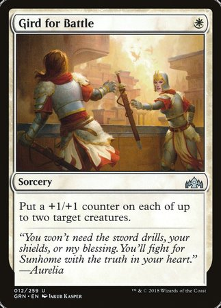 Gird for Battle [Guilds of Ravnica] | Eastridge Sports Cards & Games