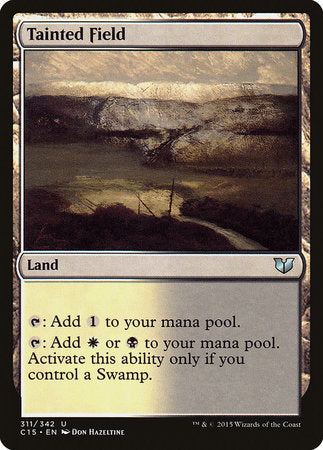 Tainted Field [Commander 2015] | Eastridge Sports Cards & Games