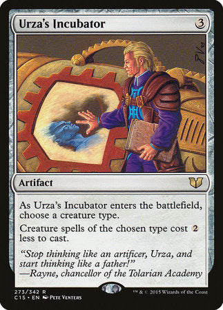 Urza's Incubator [Commander 2015] | Eastridge Sports Cards & Games