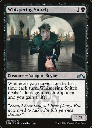 Whispering Snitch [Guilds of Ravnica] | Eastridge Sports Cards & Games