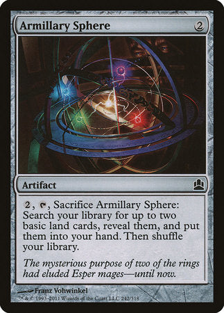 Armillary Sphere [Commander 2011] | Eastridge Sports Cards & Games