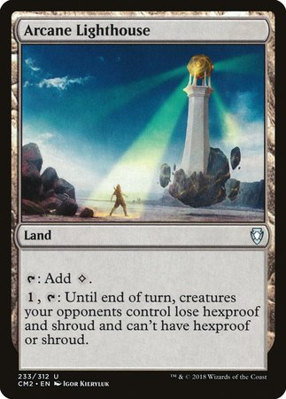 Arcane Lighthouse [Commander Anthology Volume II] | Eastridge Sports Cards & Games