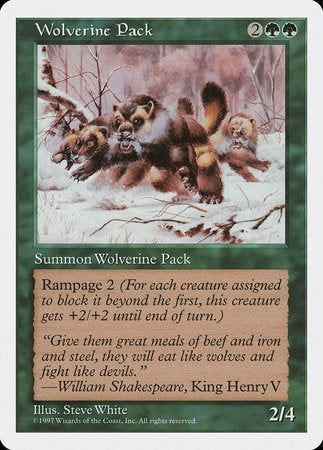 Wolverine Pack [Fifth Edition] | Eastridge Sports Cards & Games