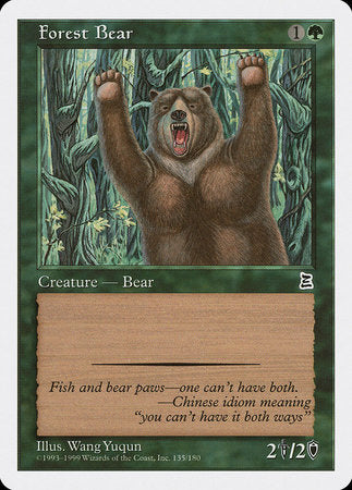 Forest Bear [Portal Three Kingdoms] | Eastridge Sports Cards & Games
