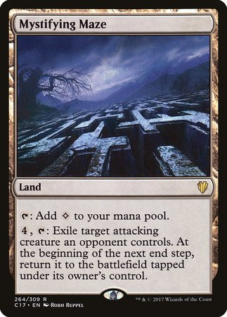 Mystifying Maze [Commander 2017] | Eastridge Sports Cards & Games