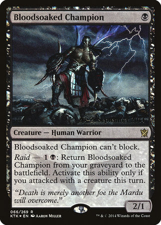 Bloodsoaked Champion [Khans of Tarkir Promos] | Eastridge Sports Cards & Games