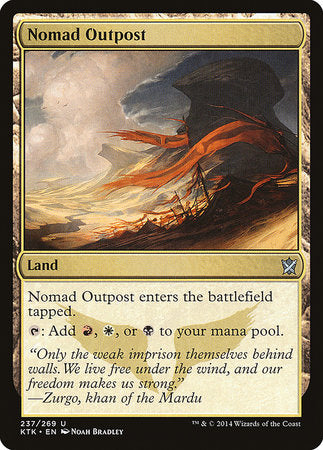 Nomad Outpost [Khans of Tarkir] | Eastridge Sports Cards & Games