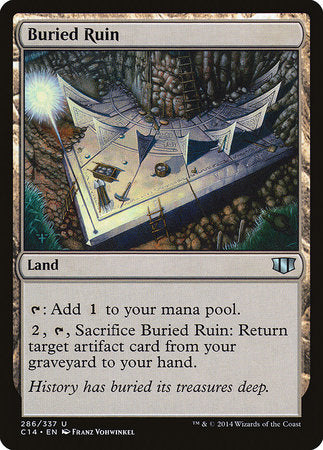 Buried Ruin [Commander 2014] | Eastridge Sports Cards & Games