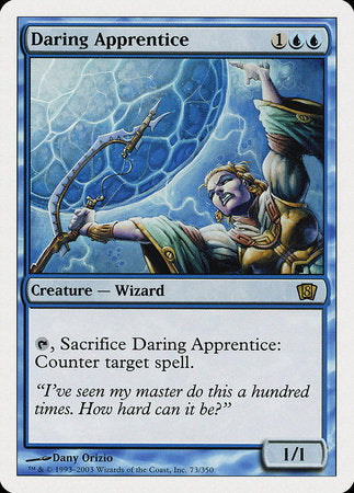 Daring Apprentice [Eighth Edition] | Eastridge Sports Cards & Games