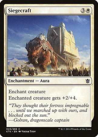 Siegecraft [Khans of Tarkir] | Eastridge Sports Cards & Games