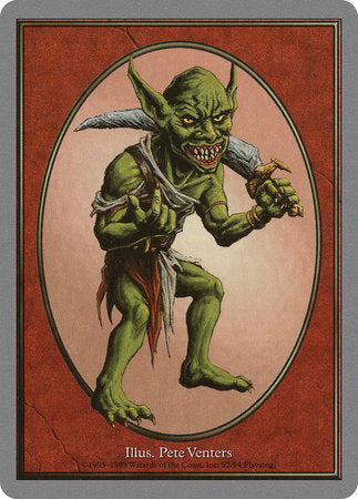 Goblin Token [Unglued Tokens] | Eastridge Sports Cards & Games