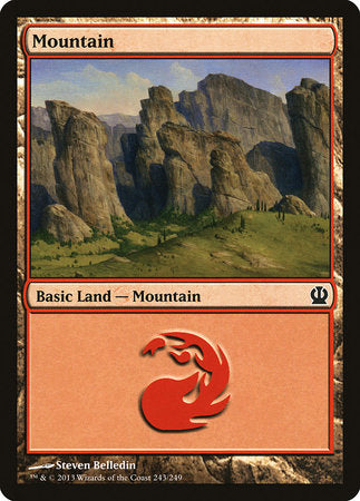 Mountain (243) [Theros] | Eastridge Sports Cards & Games