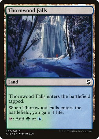 Thornwood Falls [Commander 2018] | Eastridge Sports Cards & Games
