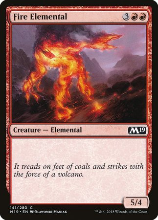 Fire Elemental [Core Set 2019] | Eastridge Sports Cards & Games