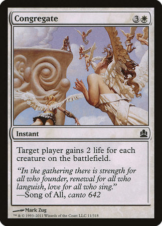 Congregate [Commander 2011] | Eastridge Sports Cards & Games