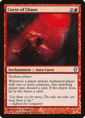 Curse of Chaos [Commander 2013] | Eastridge Sports Cards & Games