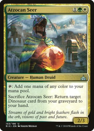 Atzocan Seer [Rivals of Ixalan] | Eastridge Sports Cards & Games