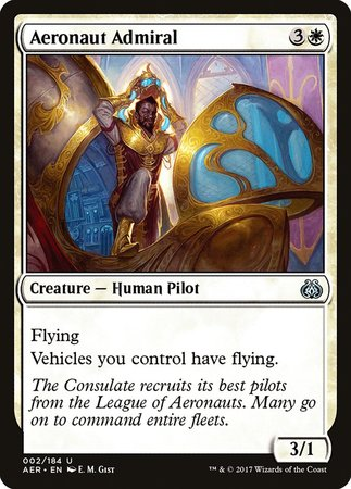 Aeronaut Admiral [Aether Revolt] | Eastridge Sports Cards & Games