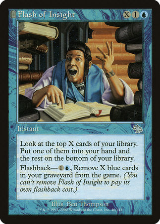Flash of Insight [Judgment] | Eastridge Sports Cards & Games