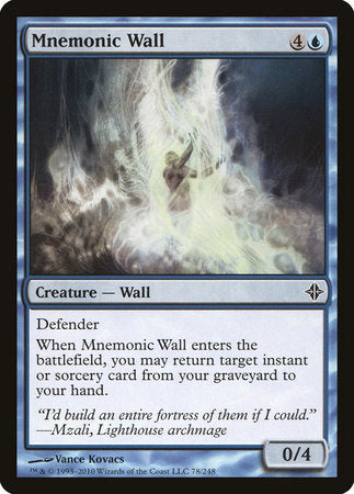 Mnemonic Wall [Rise of the Eldrazi] | Eastridge Sports Cards & Games