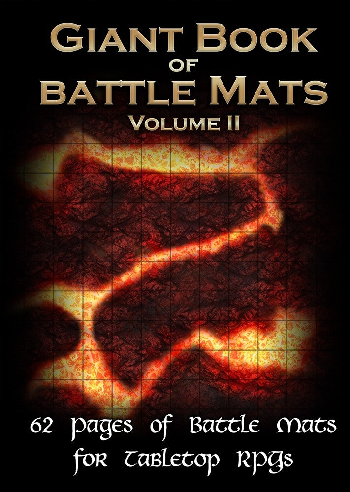 Giant Book of Battle Mats - Vol. 2 | Eastridge Sports Cards & Games