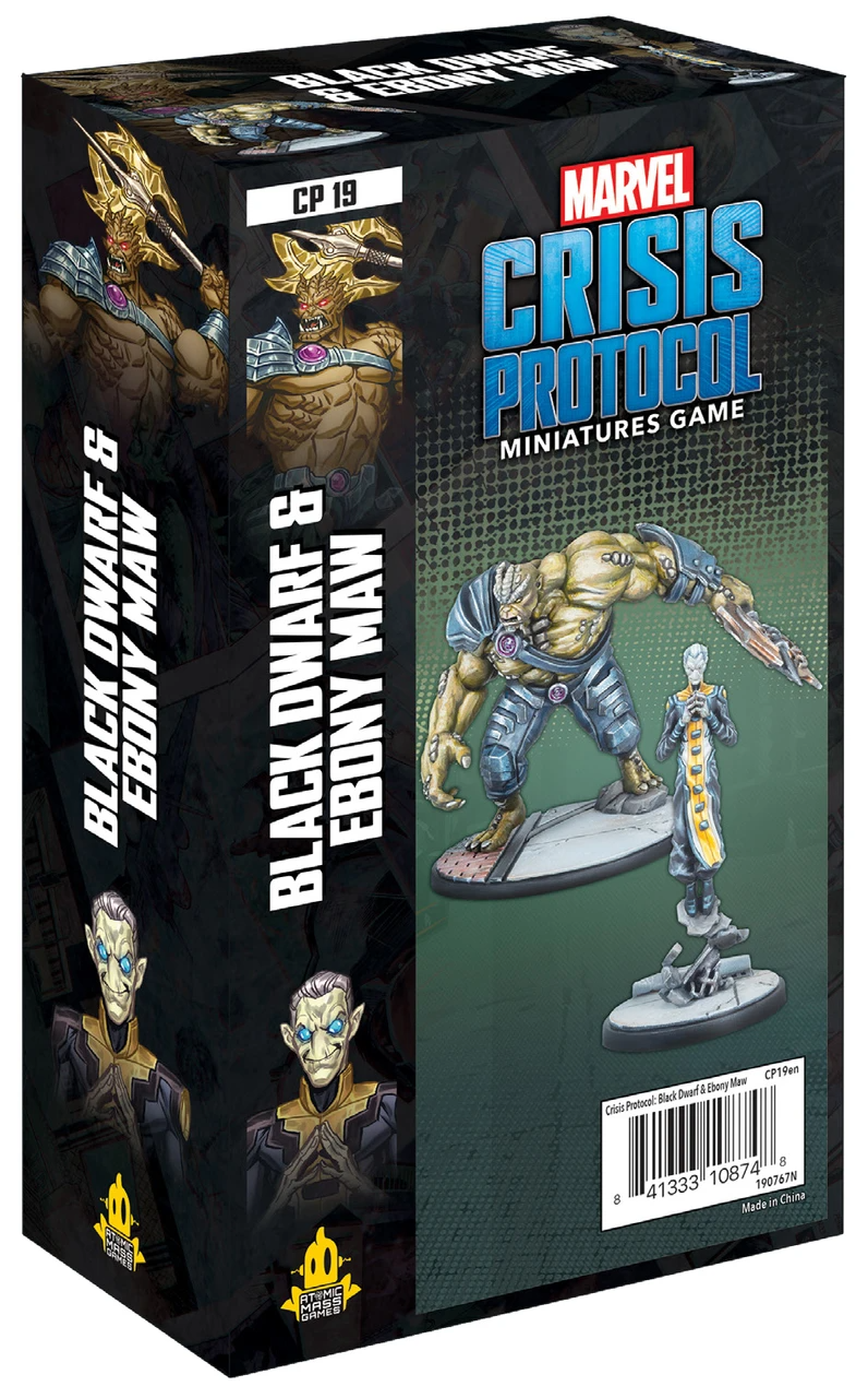 Marvel: Crisis Protocol - Black Dwarf and Ebony Maw Character Pack | Eastridge Sports Cards & Games