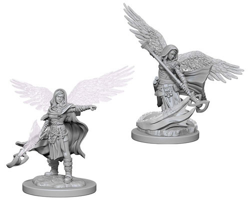 Wizkids Nolzur's Marvelous Miniatures Aasimar Wizard Female | Eastridge Sports Cards & Games