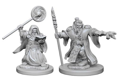 Wizkids Nolzur's Marvelous Miniatures Dwarf Wizard Male | Eastridge Sports Cards & Games