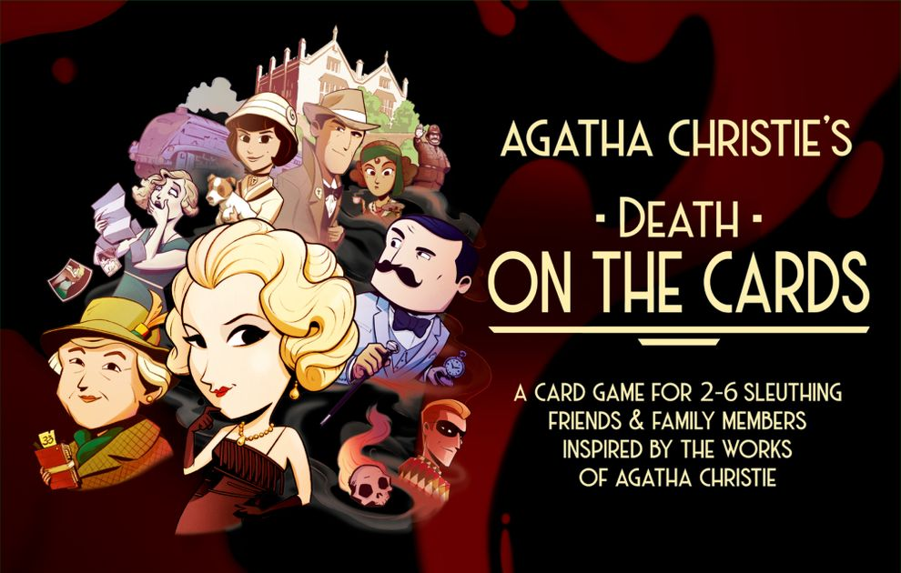 Agatha Christie's Death on the Cards | Eastridge Sports Cards & Games