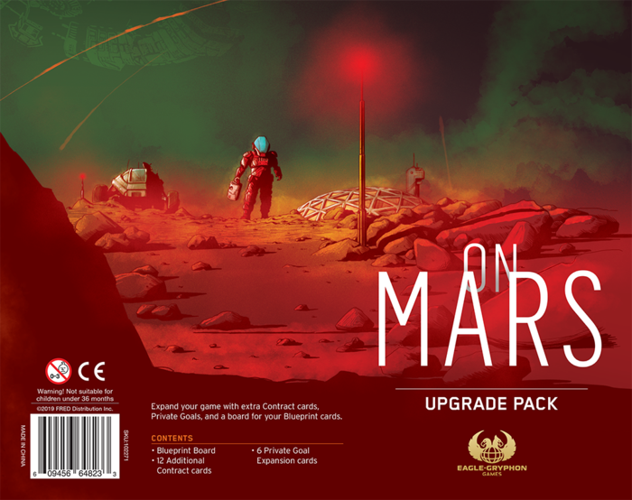 On Mars: Upgrade Pack | Eastridge Sports Cards & Games
